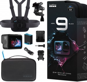 Zestaw SPORTS GoPro Hero9 Black